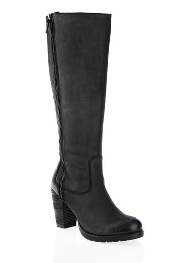 Cotton Bar Çizme Siyah